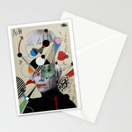 anti pop andy Stationery Cards