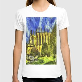 Eton College Chapel Vincent Van Gogh T-shirt