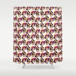 Iconic Headdresses - West Sumatra Shower Curtain