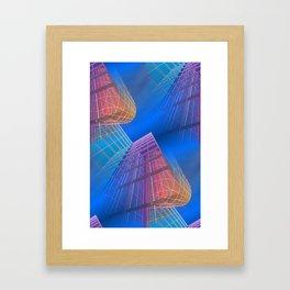 citylines -6- Framed Art Print