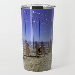 Alto de Perdon, Pilgrim Statue Travel Mug