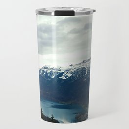 Mountains, Trees, Lakes Travel Mug