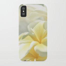 Na Lei Pua Melia Aloha e ko Lele iPhone Case