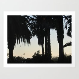 Santa Barbara Sunset Art Print
