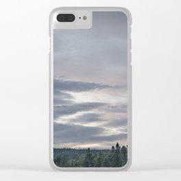 Dusk at Cape Breton Island Clear iPhone Case