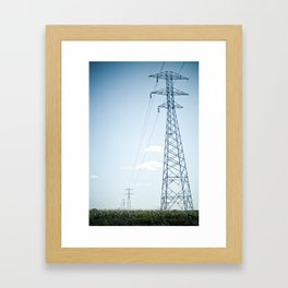 The Power Framed Art Print