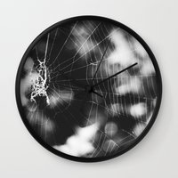 tangled Wall Clocks featuring Tangled by Christine Hall