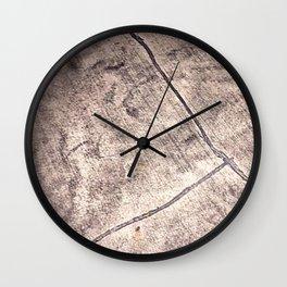 Cracked Wall Clock