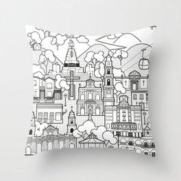 Salta, The Beautiful Throw Pillow