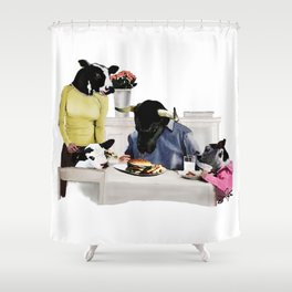 You Are Who You Eat! #2 Shower Curtain