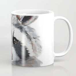 Rhubarb the Raccoon Coffee Mug