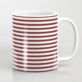 Marsala Stripes Coffee Mug