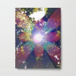 Mandala Sunlight Metal Print