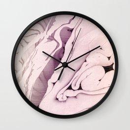 PASTEL MARBLED LIQUID Wall Clock