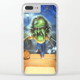 The Haunted Mask II Clear iPhone Case