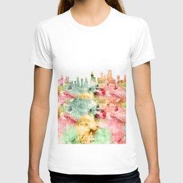 Chicago City Skyline Illinois T-shirt