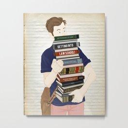 Getting into law school. By Priscilla Li Metal Print