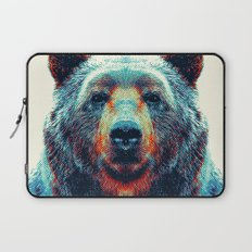 Bear - Colorful Animals Laptop Sleeve