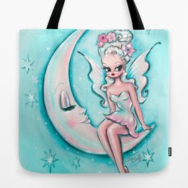 Fairy on the Moon Tote Bag