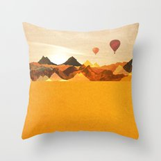 The Boonies Throw Pillow