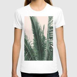 Maui Sunset Palm Leaves Tropicana T-shirt