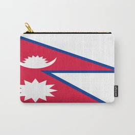 Flag of Nepal Carry-All Pouch