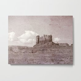 Old West Monument Valley Metal Print