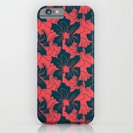Louisiana Iris (Arctic) iPhone Case