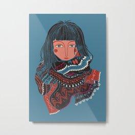 The Nomad Metal Print