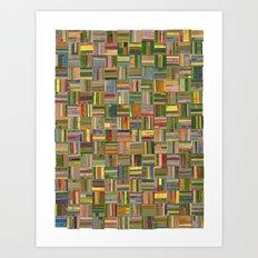 California Collagescape Art Print