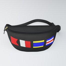 BHDC Boat Hair Don't Care Fanny Pack