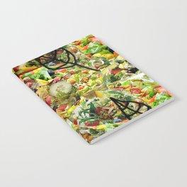 Salad Floral Notebook