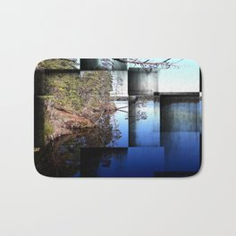 Crisp early November day Bath Mat