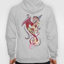 Discord and Fluttershy Hoody
