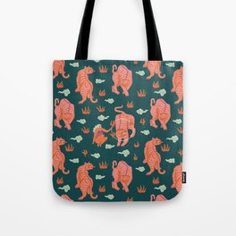 Circus pattern Tote Bag