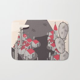 Mexico Mountains Bath Mat