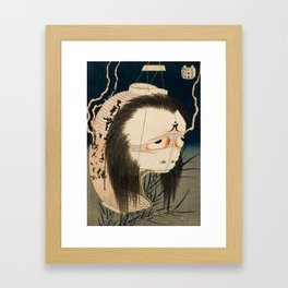 Oiwa Japanese Ghost, Hokusai, 1830 Framed Art Print