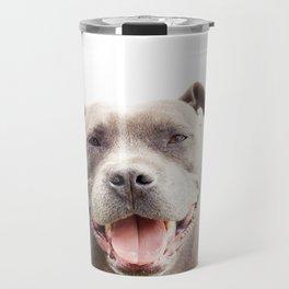 The Happy Staffy Travel Mug