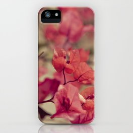 Red Flowers #2 iPhone Case