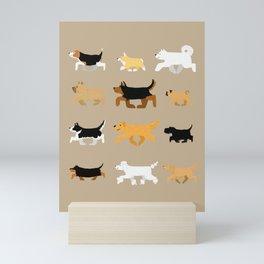 Dogs Mini Art Print