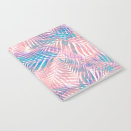 Palm Leaves - Iridescent Pastel Notebook