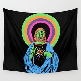 Blacklight Jesus Wall Tapestry