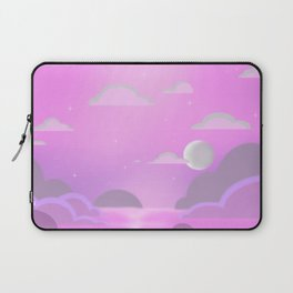 Cotton Candy Sky Laptop Sleeve
