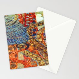 Gustav Klimt Gnawing Sorrow Stationery Cards
