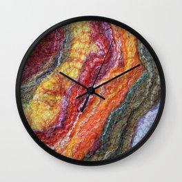 Sheer Fashion - Citrine II Wall Clock
