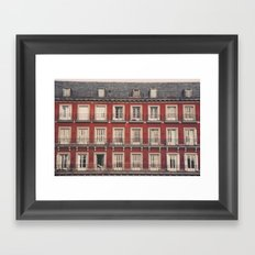 Plaza Mayor Framed Art Print