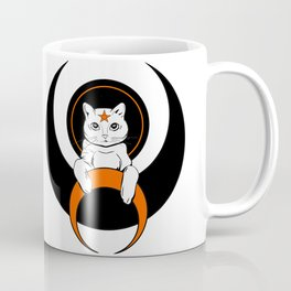 Cat from moon Coffee Mug