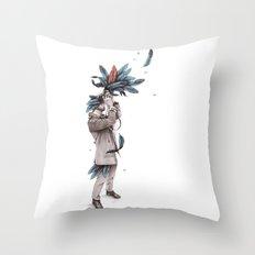 Ornis Throw Pillow