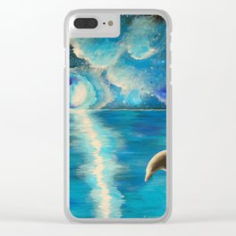 Water Dance Clear iPhone Case