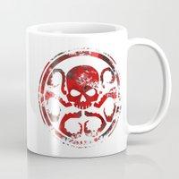 hydra Mugs featuring HYDRA by Trey Crim